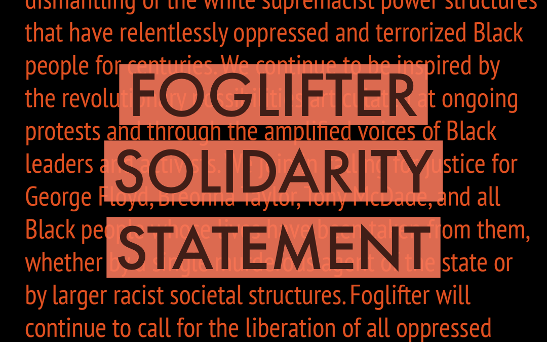 Foglifter Solidarity Statement